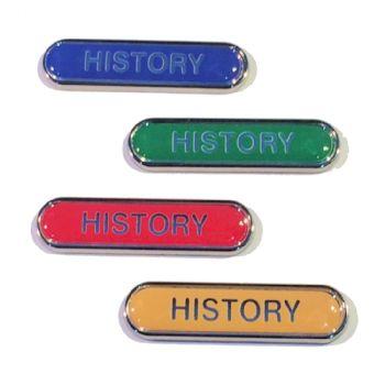 HISTORY badge